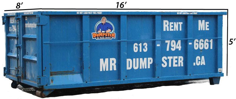 23 yard bin